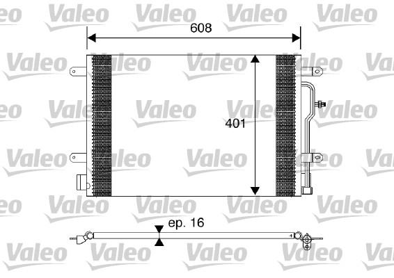 Condenseur, climatisation - VALEO - 817569