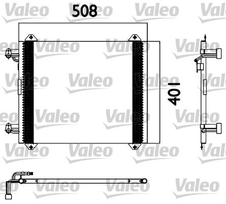 Condenseur, climatisation - VALEO - 817570