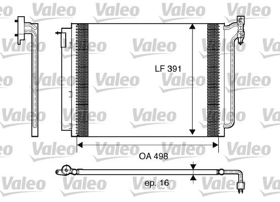 Condenseur, climatisation - VALEO - 817575