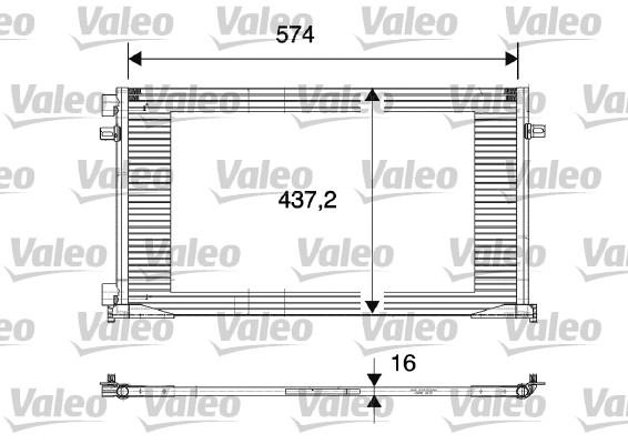 Condenseur, climatisation - VALEO - 817577