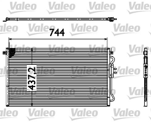 Condenseur, climatisation - VALEO - 817582