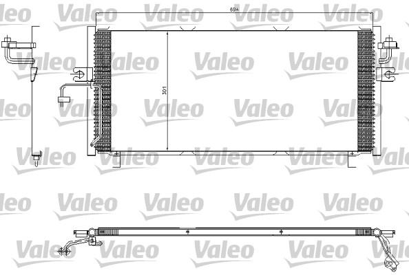 Condenseur, climatisation - VALEO - 817603