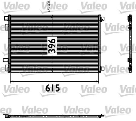 Condenseur, climatisation - VALEO - 817608
