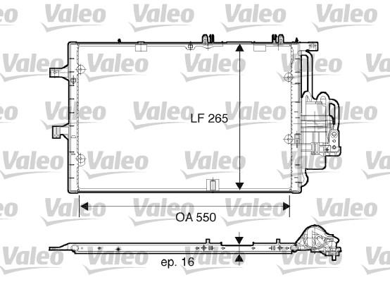 Condenseur, climatisation - VALEO - 817610