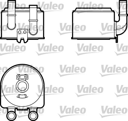 Radiateur d'huile - VALEO - 817643