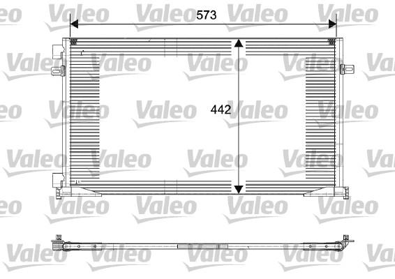 Condenseur, climatisation - VALEO - 817644