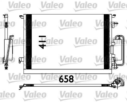 Condenseur, climatisation - VALEO - 817647