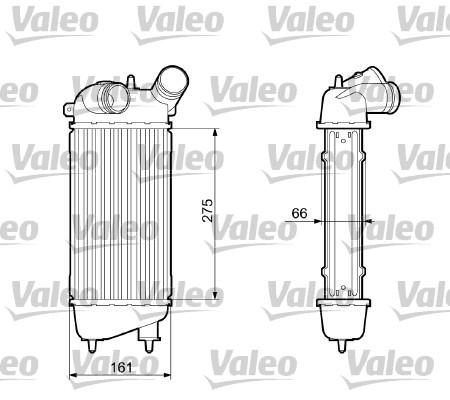 Intercooler, échangeur - VALEO - 817651