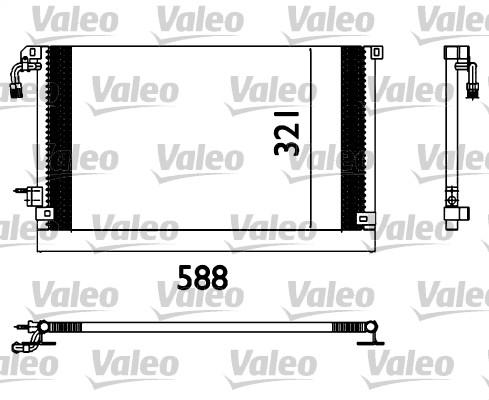 Condenseur, climatisation - VALEO - 817655