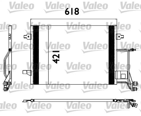 Condenseur, climatisation - VALEO - 817666