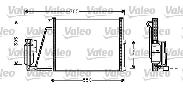 Condenseur, climatisation - VALEO - 817670