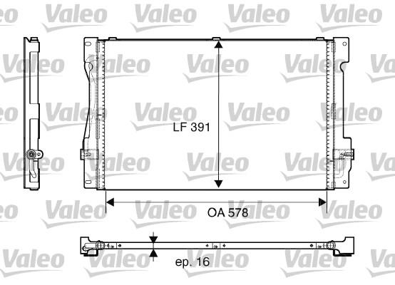 Condenseur, climatisation - VALEO - 817675