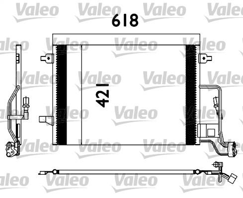Condenseur, climatisation - VALEO - 817679