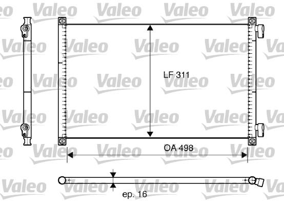 Condenseur, climatisation - VALEO - 817685