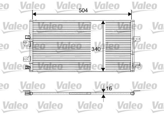 Condenseur, climatisation - VALEO - 817687