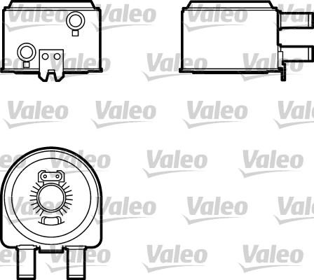 Radiateur d'huile - VALEO - 817704