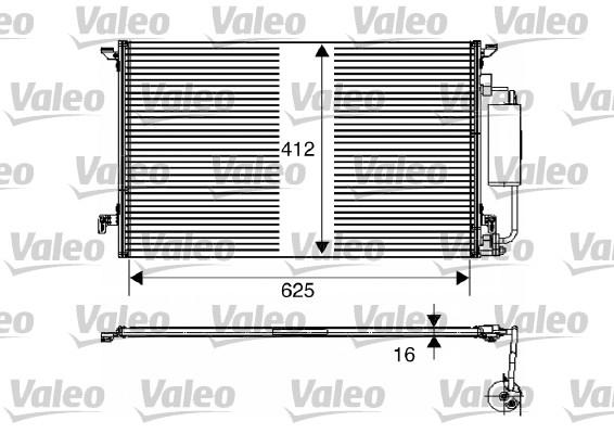 Condenseur, climatisation - VALEO - 817711