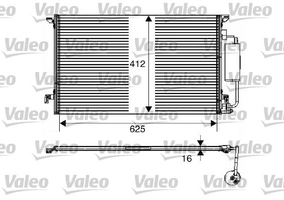 Condenseur, climatisation - VALEO - 817712