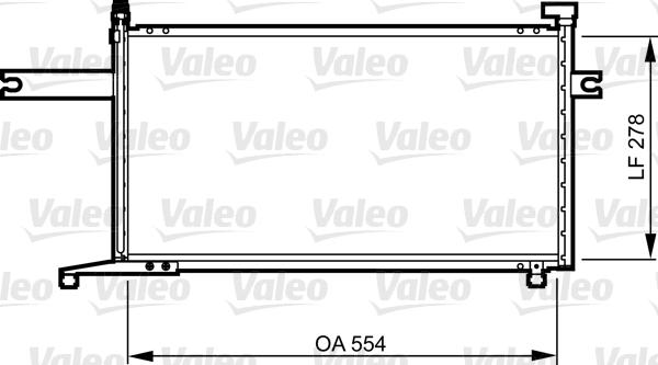 Condenseur, climatisation - VALEO - 817732