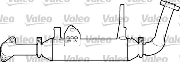 Radiateur, réaspiration des gaz d'échappement - VALEO - 817749