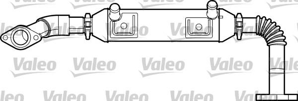 Radiateur, réaspiration des gaz d'échappement - VALEO - 817750