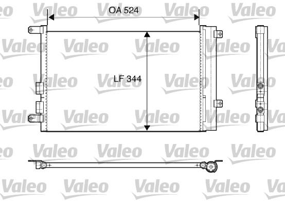 Condenseur, climatisation - VALEO - 817818
