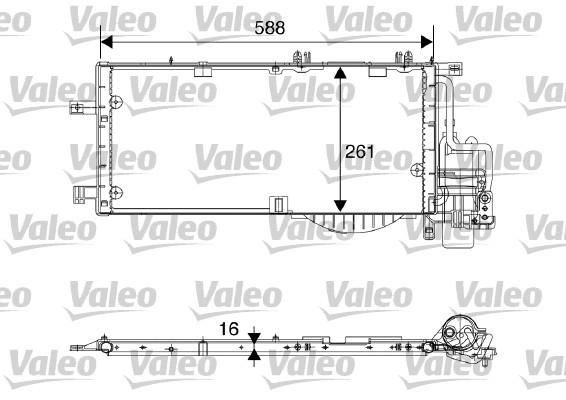 Condenseur, climatisation - VALEO - 817844