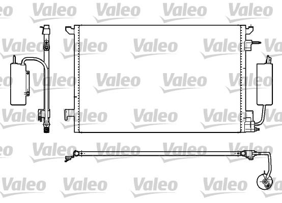 Condenseur, climatisation - VALEO - 817852