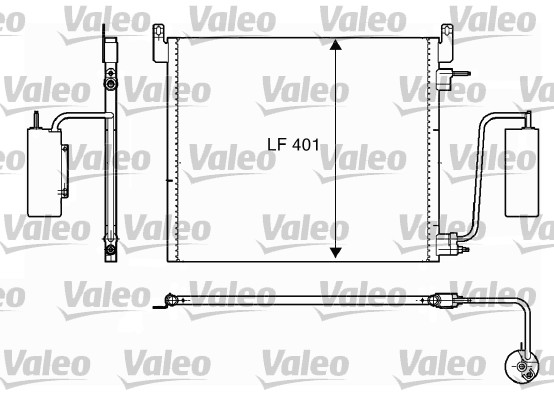 Condenseur, climatisation - VALEO - 817853