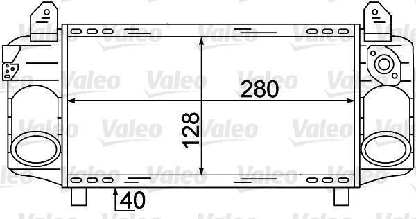 Intercooler, échangeur - VALEO - 817872