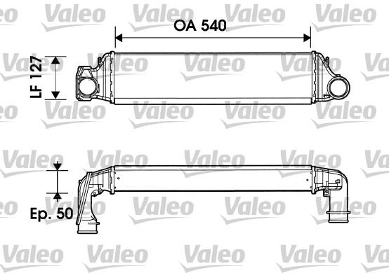 Intercooler, échangeur - VALEO - 817874
