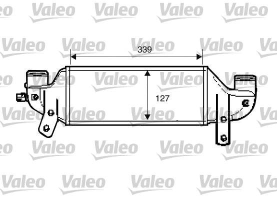Intercooler, échangeur - VALEO - 817888