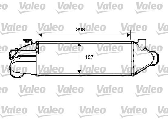 Intercooler, échangeur - VALEO - 817891