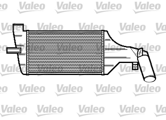 Intercooler, échangeur - VALEO - 817916