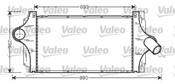 Intercooler, échangeur - VALEO - 817925