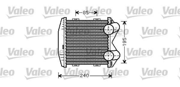 Intercooler, échangeur - VALEO - 817931