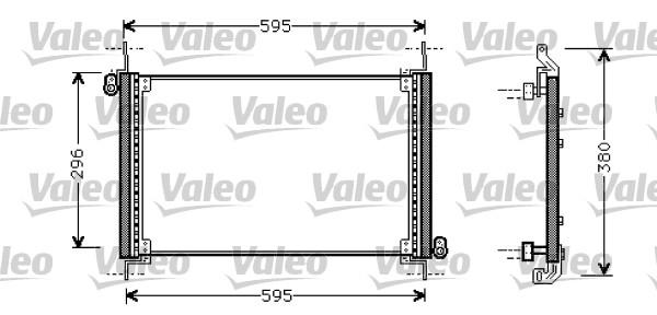 Condenseur, climatisation - VALEO - 818009