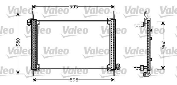 Condenseur, climatisation - VALEO - 818019
