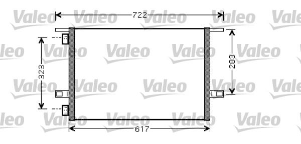 Condenseur, climatisation - VALEO - 818028