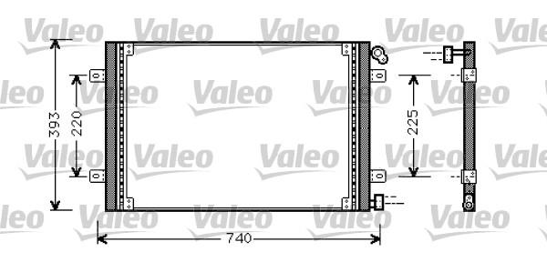 Condenseur, climatisation - VALEO - 818029
