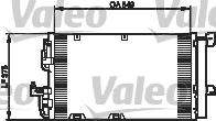 Condenseur, climatisation - VALEO - 818047