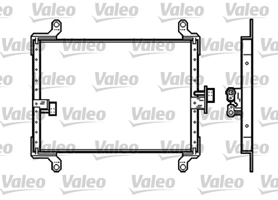 Condenseur, climatisation - VALEO - 818191
