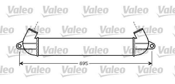 Intercooler, échangeur - VALEO - 818712