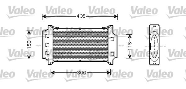 Intercooler, échangeur - VALEO - 818713