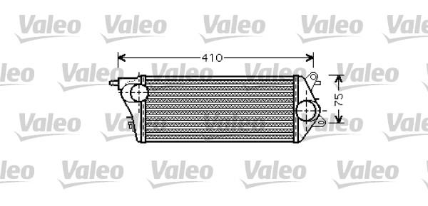 Intercooler, échangeur - VALEO - 818714