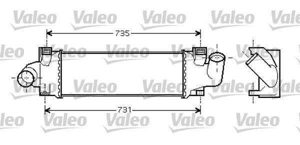 Intercooler, échangeur - VALEO - 818717