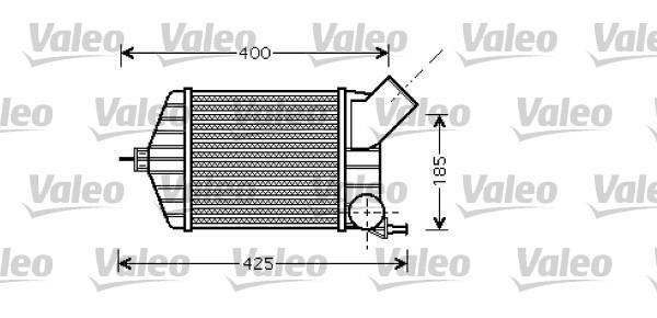 Intercooler, échangeur - VALEO - 818725