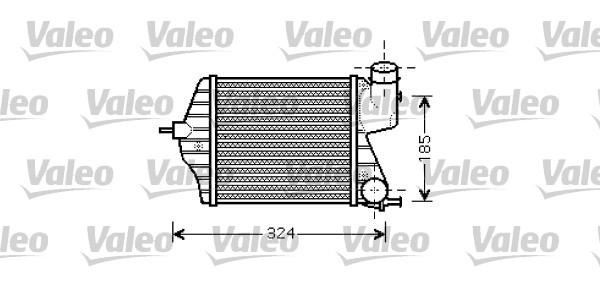 Intercooler, échangeur - VALEO - 818726