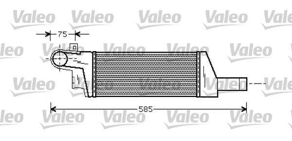 Intercooler, échangeur - VALEO - 818728