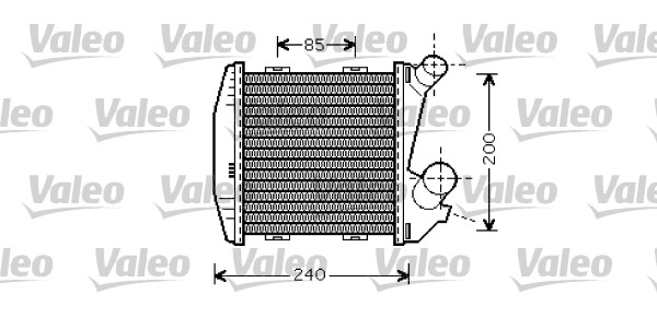 Intercooler, échangeur - VALEO - 818730